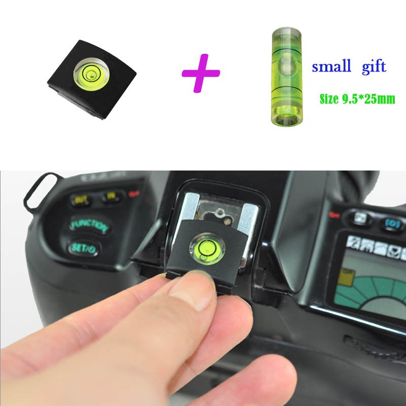 Promotions!! 1PCS/LOT Camera Bubble Spirit Level + Hot Shoe Protector Cover for Nikon Canon Casio Fuji SAMSUNG + BUBBLE LEVEL variety models available round bubble level mini spirit level bubble bullseye level measurement instrument