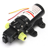 MTGATHER DC 12V Water Self Priming Diaphragm Pressure Pump For Caravan RV Boat Marine Boat Extremely