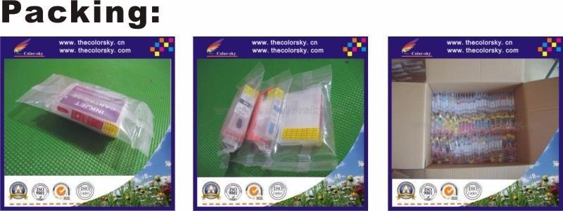 RCE-1051-1054) многоразовый картридж с чернилами для принтера Epson T1051-T1054 105 K/C/M/Y TX400 TX409 C79 C90 C110 CX7300 CX5500 freedhl