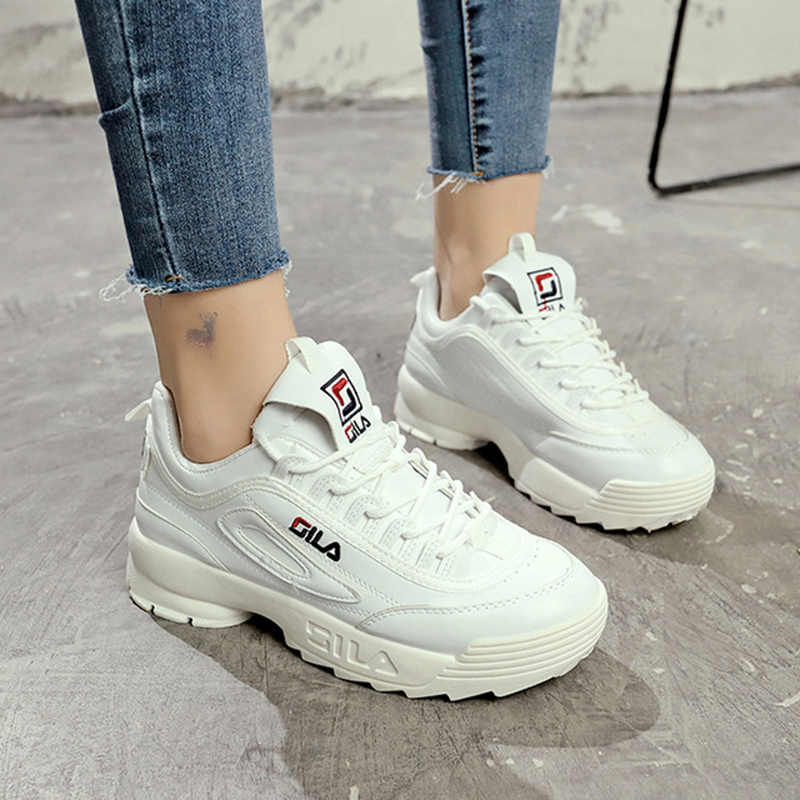 ac9a03dfe2 2019 New women running shoes Disruptor 2 Sneakers Cushioning platform  Breathable Wave Sports Triple-S