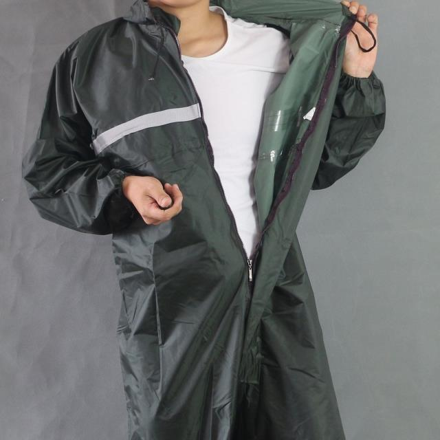 Rain overalls Sets Working coveralls Fishing overalls Waterproof reflective Anti-oily Dust-proof Paint clothes Hooded Safety
