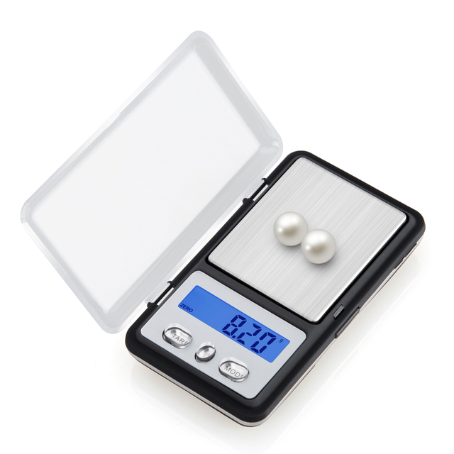 200g/0.01g Mini Pocket Jewelry Scale Gram Portable Digital Weighing Scales Electronic Balance 0.01 Gold Coin Weight LCD