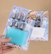 V1NF 31cm Length Silicone Icing Piping Cream Pastry Bag Cake Decorating Tool