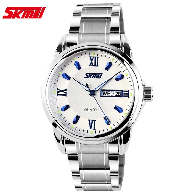 Watches men Skmei luxury brand quartz wristwatch casual Business reloj hombre dive 30m sport Clock relogio masculino 9082