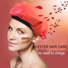 Новая дамская крышка холодного тепла для волос, уход за волосами, уход за волосами, пароварка, термопленка для салонов с подогревом, гелевая Крышка для волос, стильный Пароварка для лечения волос