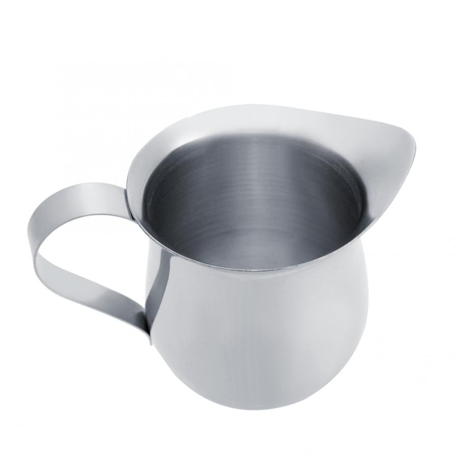 Multipurpose Milk Frothing Pitcher Cup for Home Milk Frothing Cup 240ml // 8oz Frothing Stainless Steel Milk Pitcher Cafe Office