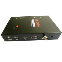 ezcap286 SDI HDMI H.264 Pro HDMI Recorder Box With Remote Control Support USB SD Disk SDI HD 3G Video Capture Card Encoder