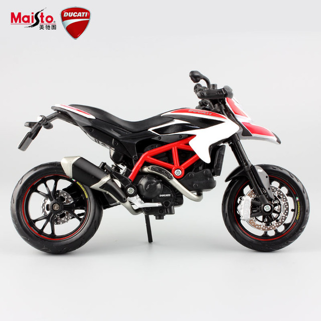 Kids Hypermotaro 1100 EVO SP Corse motorbike racing metal tank collectible model oil metal tank cars auto motorcycles desk toys
