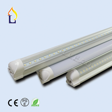 Купить с кэшбэком 50pcs/lot 2ft 3ft 4ft 5ft 6ft 8ft 10-48W integrated T8 led tube light smd2835 high brightness lamp to replace fluorescent light