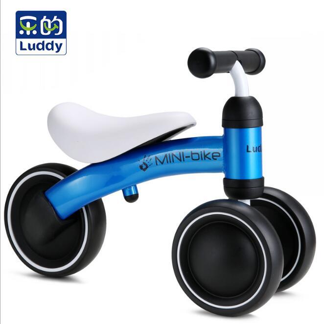Children Balance Bikes Scooter Baby Walker Infant 1-3years Scooter Bike three wheel gift walker toy