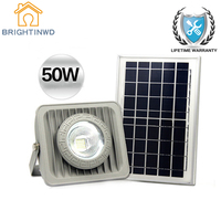 Solar Light 50W Spotlight Energy saving lighting Emergency Lights Garden Lawn Lamp Floodlights Outdoor Waterproof IP65