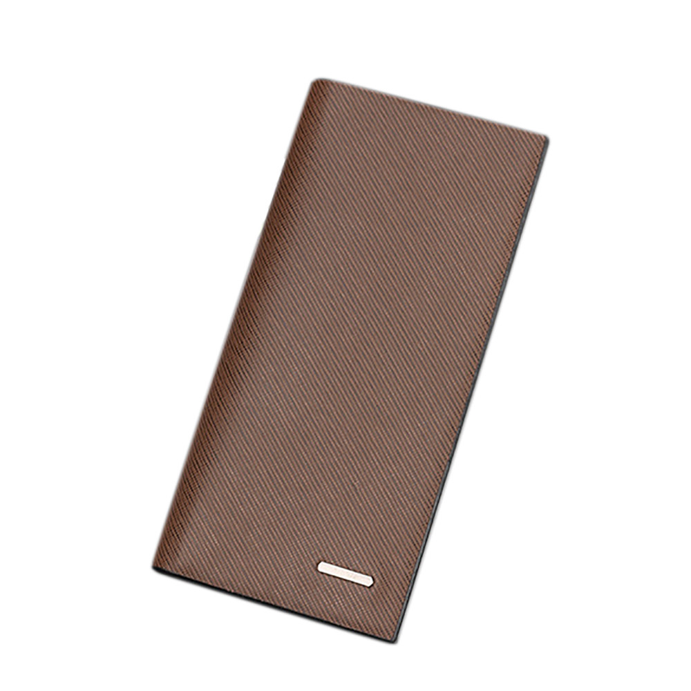 2017 Leather Passport Holder Men Wallet Stylish Bifold Business ...