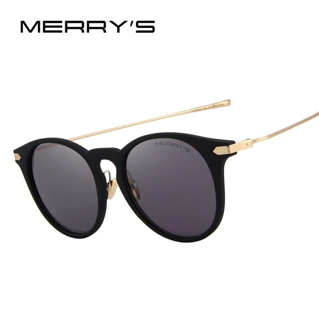 MERRY S Olho de Gato Óculos Polarizados Mulheres Designer de Marca Óculos  De Sol 100% Proteção e04b4f6afd