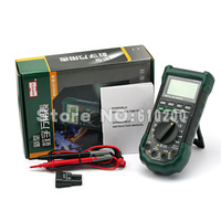 MASTECH MS8268 Auto Range Digital Multimeter Full Protection Ac Dc Ammeter Voltmeter Ohm Frequency Electrical Tester
