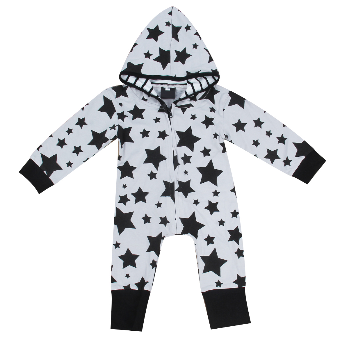 Autumn Toddler Kids Rompers Newborn Baby Boy Girl Infant Hooded Romper Jumpsuit Camo Star Playsuit Outfit Sweatshirt Clothes puseky 2017 infant romper baby boys girls jumpsuit newborn bebe clothing hooded toddler baby clothes cute panda romper costumes