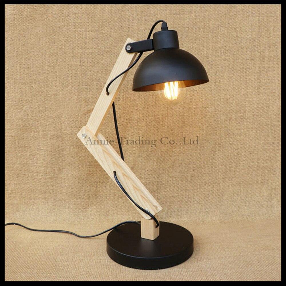 Nordic desk lamp bedroom hotel desk lighting arts Decor Wooden decorative table lights abajur para quarto lamparas abajour lampa бюстгальтер 2015 intimates sutian abajur para quarto
