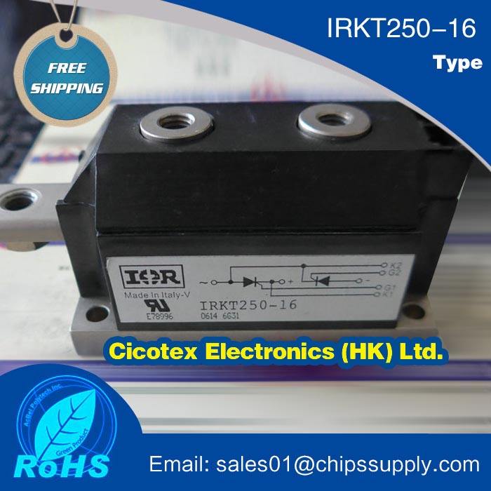 IRKT250 16 Module IGBT Thyristor Silicon Controlled Rectifier SCR DIODE Power Module 1600V 250A 7 Pin MAGN A PAK