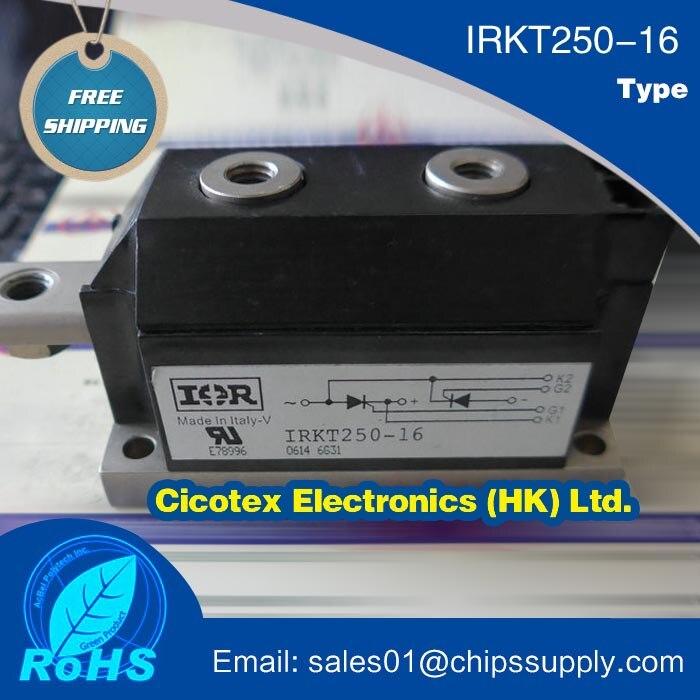 Module de IRKT250-16 IGBT Thyristor silicium redresseur contrôlé SCR DIODE Module de puissance 1600 V 250A 7 broches MAGN-A-PAK
