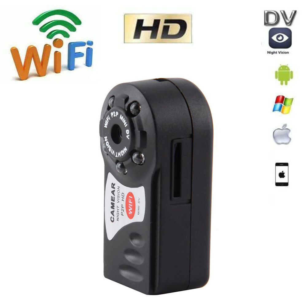 WIFI Mini P2P Remote Surveillance Camera CCTV Wireless IP Camera Infrared Night Video Surveillance Onvif Home Security Y