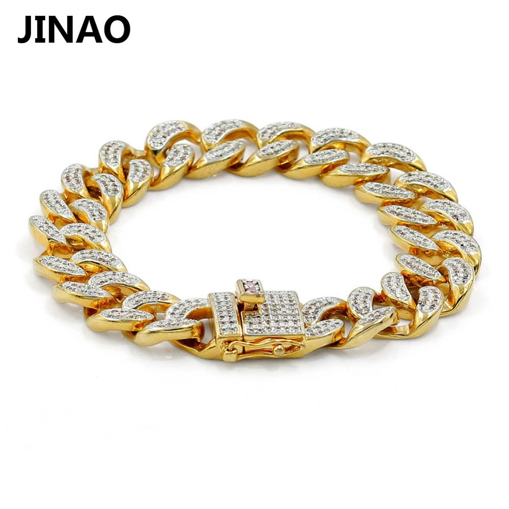 bracelet gold end neo gothic bangle zircon multi open black color