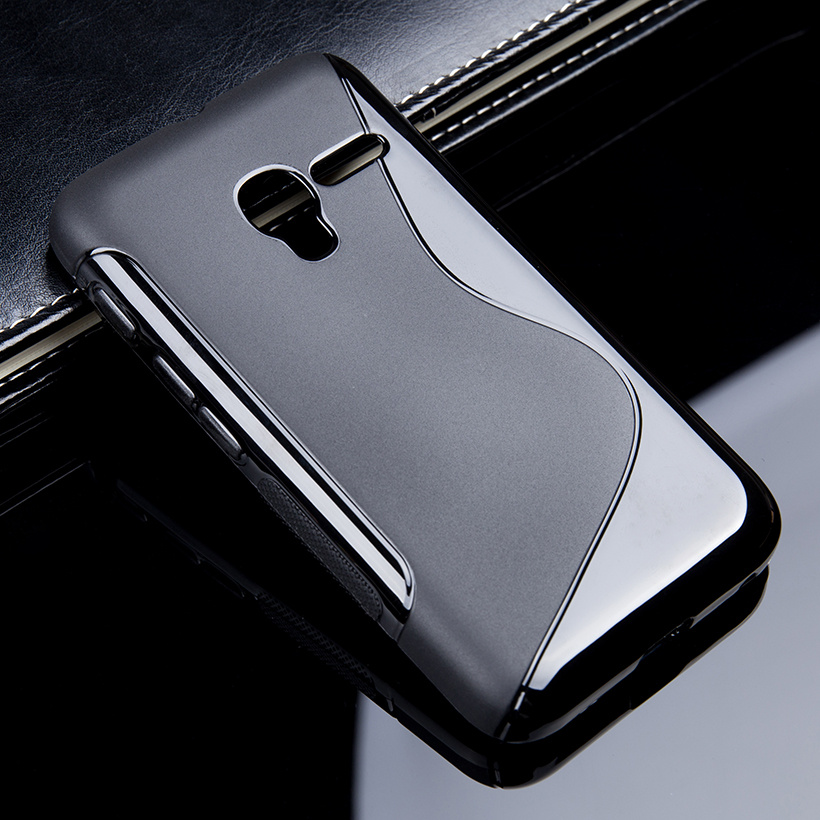 1 Pc/lot S Line Soft TPU Case For Alcatel One Touch Pixi 3 4027 4028 OT 4027D 4027N 4013 4050 Case Cover OneTouch pixi3 Back Cover Black - intl