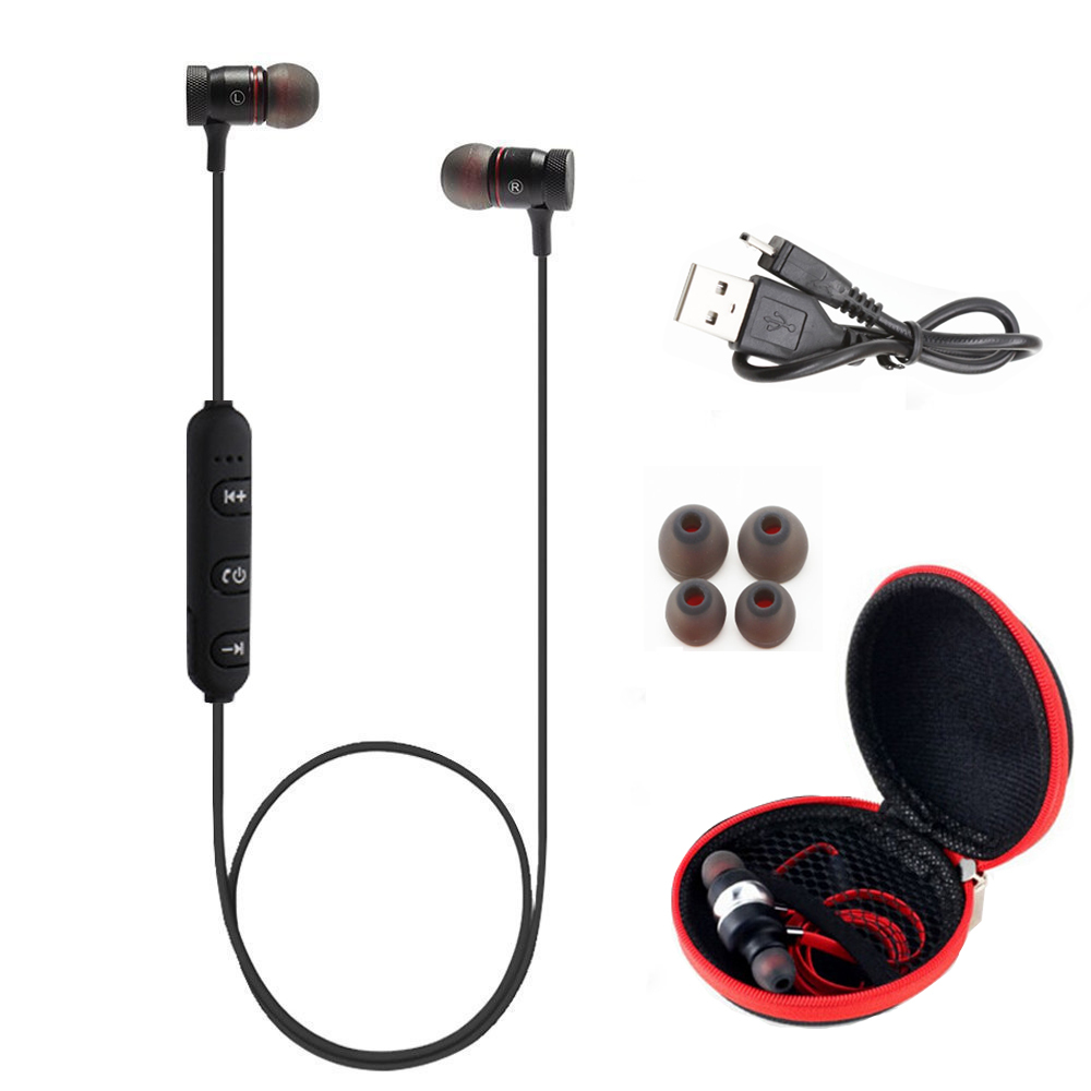 BT31 Magnetic Sports Wireless Bluetooth 4.1 AptX Headphones Stereo Earphones Headset With Mic Music Earbuds For IPhone Huawei