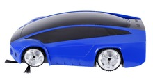new ferreri sport design AUTO cleaner ,multitioan robot vacuum +wireless handle patent product