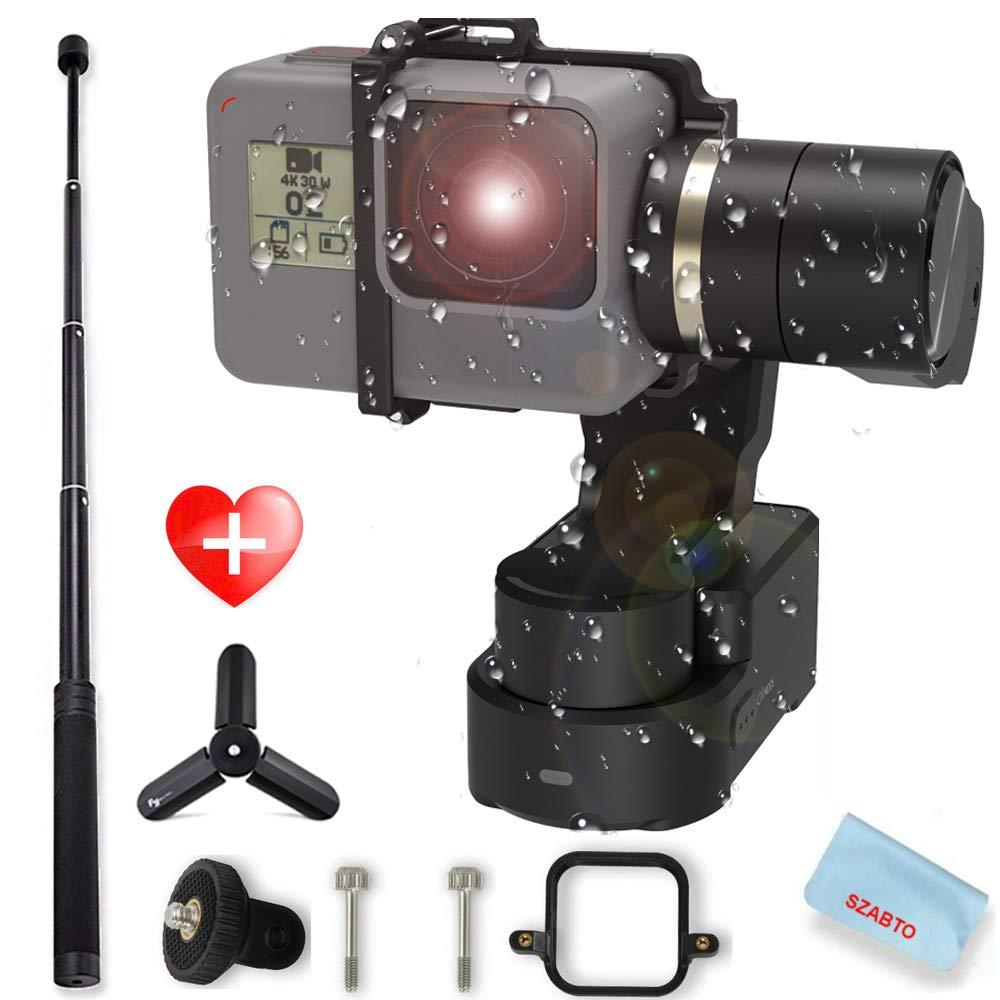 FeiyuTech WG2X 3-Axis Wearable Gimbal Splash-Proof Stabilizer For Gopro Hero7/6/5 Session Xiaomi Yi 4K SJCAM Action Camera