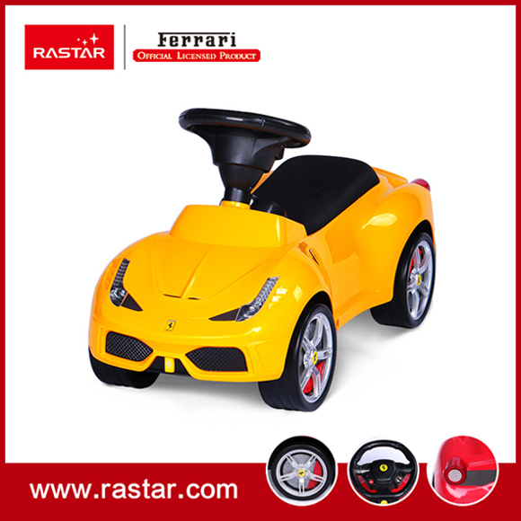 Rastar Licensed Ferrari 458 speciale A foot to floor car Free wheel with horn sound and chassis 83500