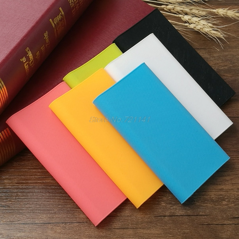 13x7.5cm Silicone Sleeve Protector Case Skin Cover Bag For Xiaomi Power Bank 2 10000mAh Electronics Stocks