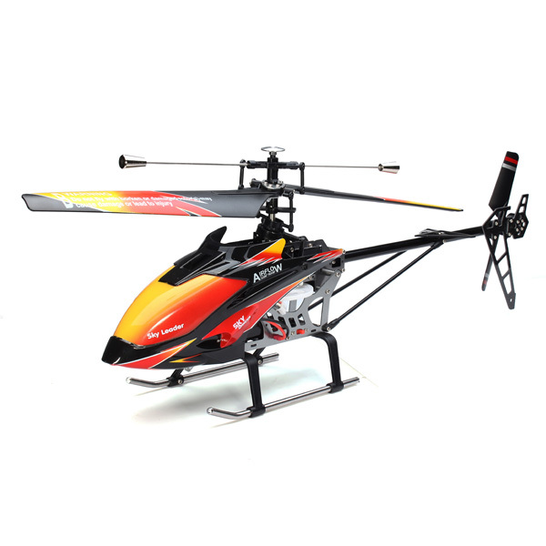 Free shiping Original WLtoys V913 RC Helicopter 4Ch Flybarless Remote Control  RTF 70cm 2.4GHz Built-in Gyro RC large plane Toy