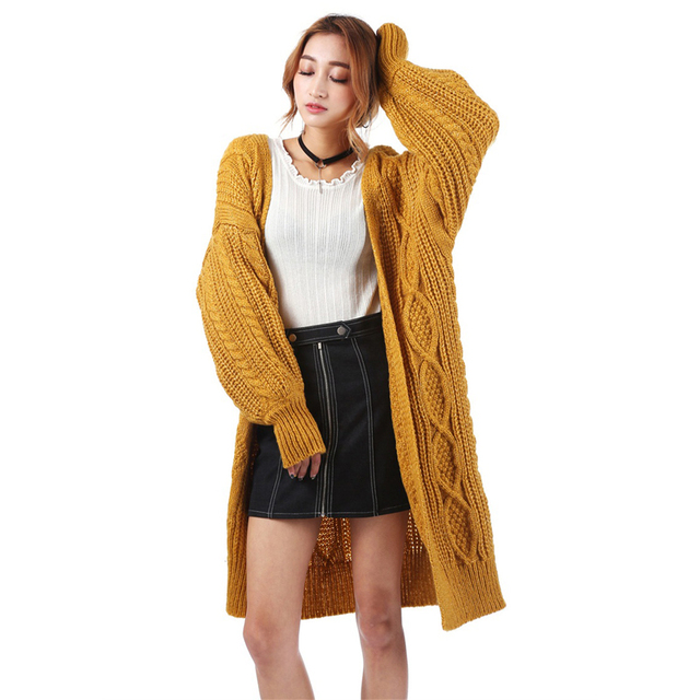 Aliexpress.com : Buy 2017 Autumn Women Knited Twist Cardigan ...