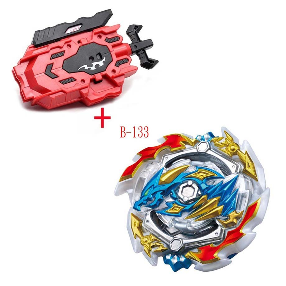 <font><b>Beyblade</b></font> <font><b>Burst</b></font> <font><b>B</b></font>-<font><b>133</b></font> Cho-z Valkyrie.z.ev With Left Right Two Way Wire Launcher Metal Booster Top Starter Gyro Spinning Fight Toy image