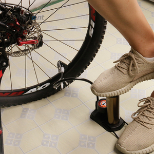 Image 5 - Deemount Bicycle Pump Inflator 160PSI Gauge Foot Pedal Portable Floor Air Inflator External Hose Fits Presta Schrader PMP014