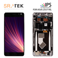 SRJTEK Original 5.7'' ZS571KL LCD For ASUS Zenfone AR ZS571KL Display Touch Screen LCD Digitizer with Frame Assembly Matrix