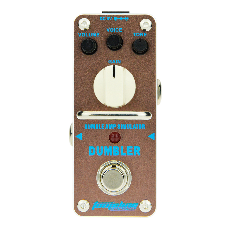 AROMA Tom'sline ADR-3 Dumbler Amp Simulator DUMBLE Mini Single Guitar Effect Pedal With True Bypass Analogue Effect Pedal aroma tom sline amd 3 metal distortion mini guitar effect pedal analogue effect true bypass