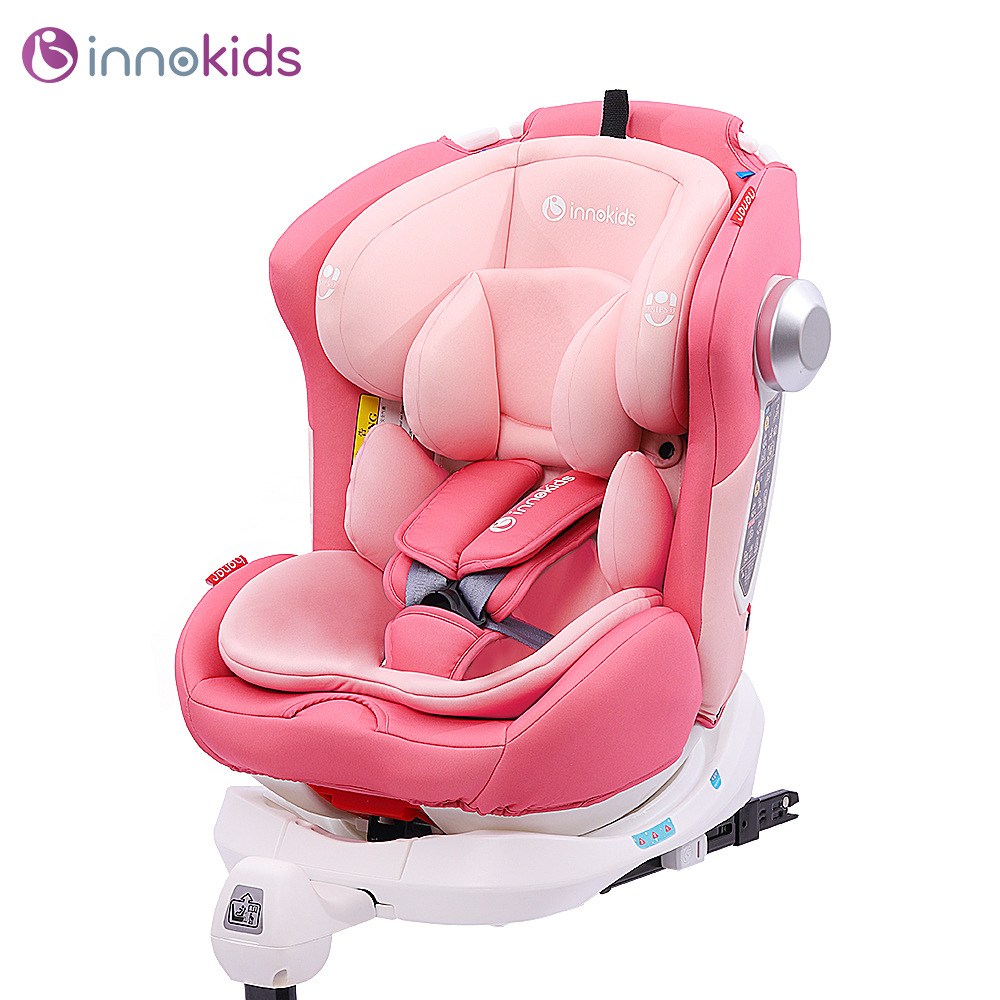 Innokids Child Safety Seat 0-12 Years Old Car Baby Baby Car 360 Degree Rotation Sitting Baby Car Seat