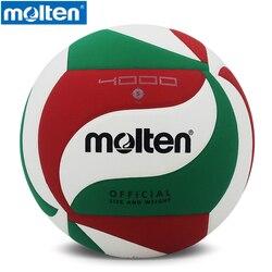 Original pelota de vóleibol Molten v5M4000 nueva marca de alta calidad fundido Material de la PU tamaño oficial 5 voleibol