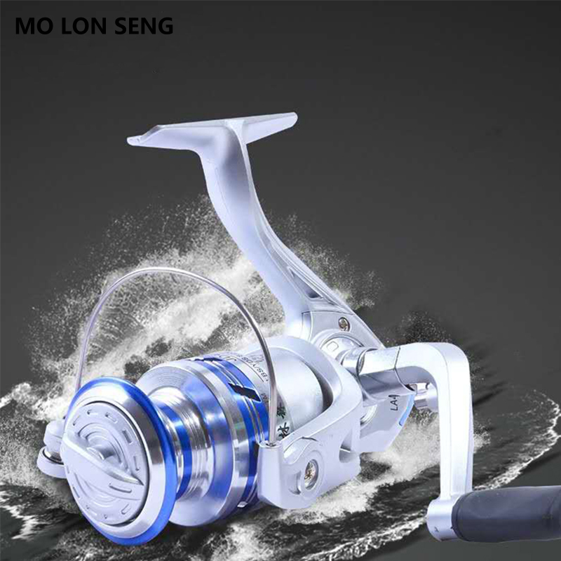 MOLONSENG Fishing Reel 12BB Ball Bearing 5 2 1 Spinning Reel for Fishing Carp 2000 7000 Series Spinning Reels Wheel Spool Lure in Fishing Reels from Sports Entertainment