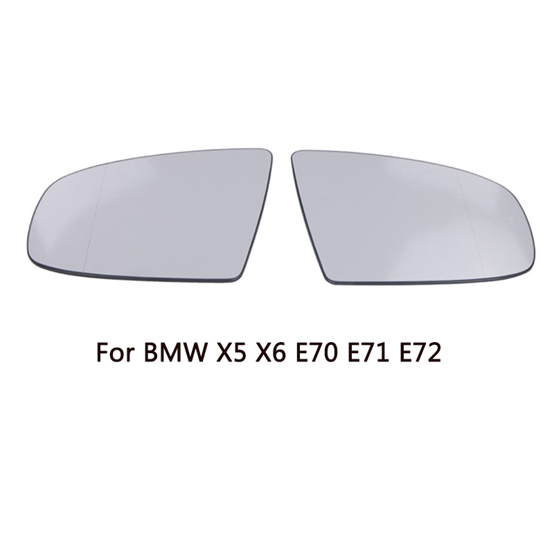 Left Right Door Wing Mirror Glass Heated Function For BMW X5 X6 E70 E71 E72 2008 2014 51167174981 51167174982 Car Mirrors //