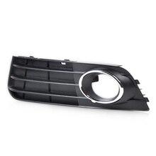 CITALL 8K0807681A01C 8K0807681A 1 шт. черный Передний левый бампер противотуманный светильник крышка лампы решетка для Audi A4 B8 2008 2009 2010 2011 2012