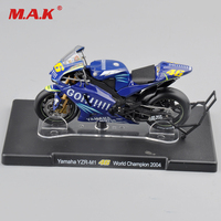 Xo-altayaのバイク用1:18 valentinoロッシヤマハYZR-M1 #46世界チャンピオン2004モデルのおもちゃブルー色