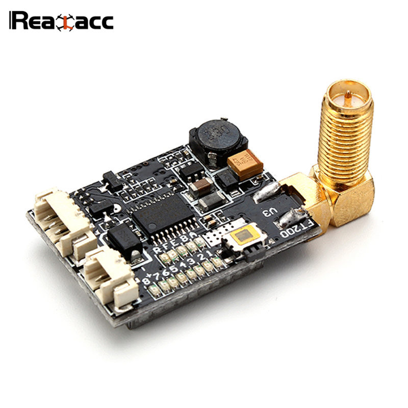Original Realacc GX210 5.8G 40CH 200mW RP-SMA Mini AV VTX FPV Transmitter For RC Models Transmission RC Multicopter Quadcopter ufofpv tx35 5 8g 40ch raceband 0mw 25mw 300mw adjustable fm av fpv transmitter sma rp sma for fpv quadcopter rc drones diy page 1