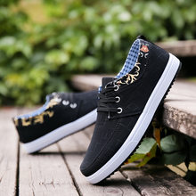 2019 Summer new Korean plate shoes leisure sports shoes men's shoes students canvas shoes low trend breathable shoes men(China)