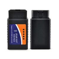2 יחידות ELM327 Bluetooth V2.1 ממשק עובד על אנדרואיד מומנט Elm327 Bluetooth OBD2/OBD II/OBD 2 אבחון כלי רכב סורק כלי