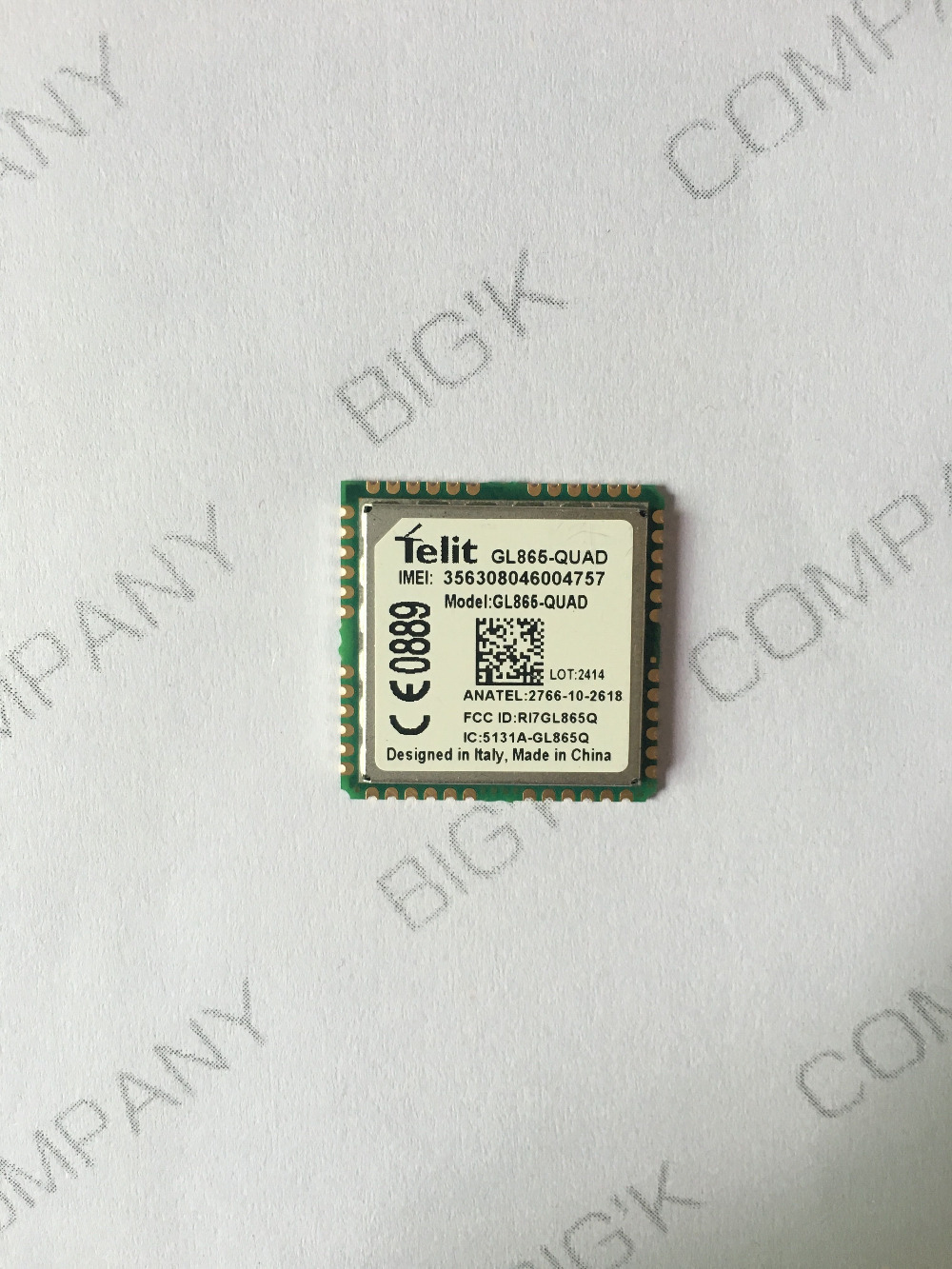 GL865-QUAD Telit  2G 100% New&Original Genuine Distributor In the stock GSM GPRS Embedded quad-band module 1PCS Free Shipping