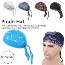 1PCS  Quick Dry Pirate Hat Outdoor Sport Cycling Caps Running Riding Headscarf