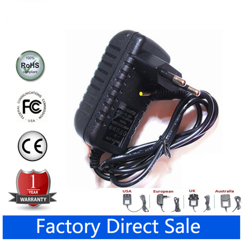 AC DC Power Adapter For Dragon Touch Y88X Plus 7 Inch Tablet PC Charger Cord