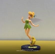 """דיסני טינקר בל נסיכת קריקטורה 20 ס""""מ מיני בובת פעולה איור אנימה מיני אוסף צלמית צעצוע דגם לילדים מתנה"""