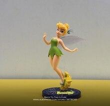 Disney dzwoneczek księżniczka kreskówka 20cm Mini lalka figurka Anime Mini kolekcja figurka zabawka model dla dzieci prezent